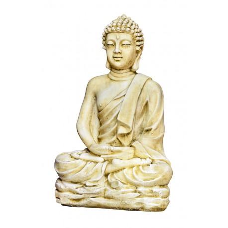 Statue Bouddha Kadampa ton vieilli - H 96 cm