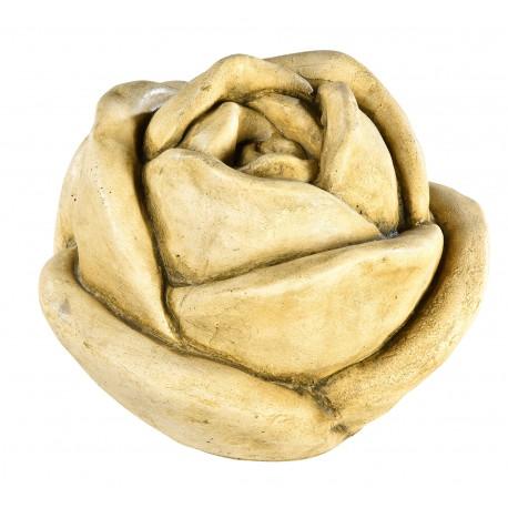 Rose en pierre 26 cm