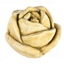 Rose en pierre ton vieilli 26 cm