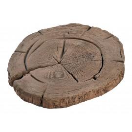 Pas japonais rondin de bois - 37 cm