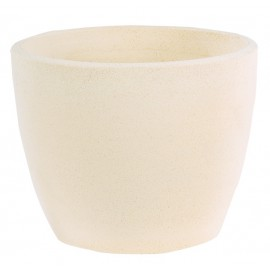Vase boule Nova 135 blanc - Ø 32 cm