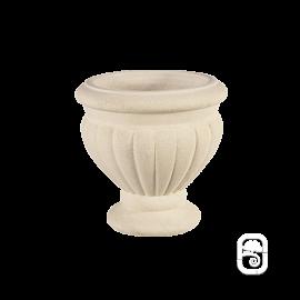 Vase 189 marbre blanc - Ø 40 cm