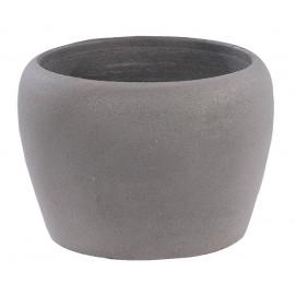 Vase 266 ANTHRACITE béton pressé - Ø 34cm