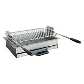 Bloc de cuisson en acier réglable