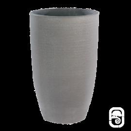 Vase haut béton pressé anthracite - 40X64cm