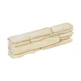 Bloc muret Saint Lary ton pierre - 44 cm