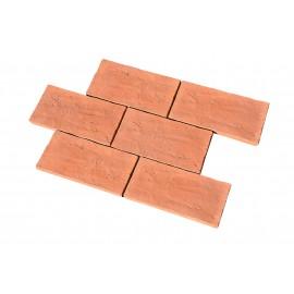 Briques plates de parement 26x13 cm