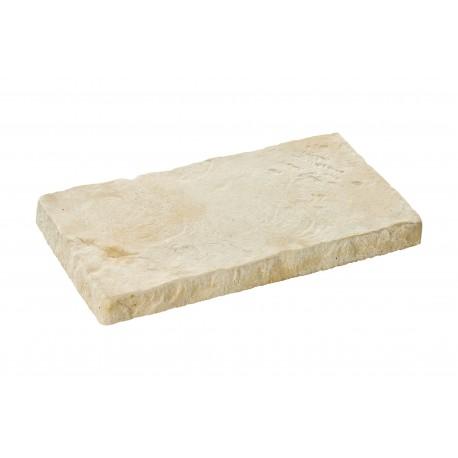 Margelle rustique ton pierre ancienne 50 cm