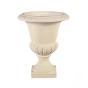 Vase Médicis M2 marbre blanc - Ø 42 cm