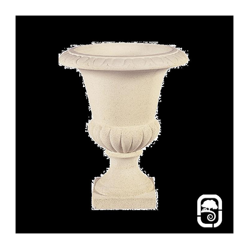 vase m dicis m2 marbre blanc 42 cm. Black Bedroom Furniture Sets. Home Design Ideas