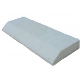 Bordure plate avec pente ton pierre - 50cm