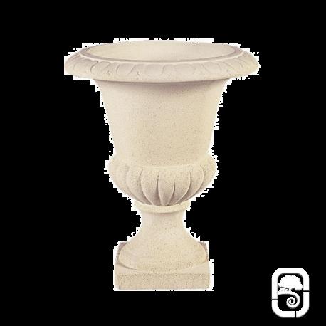 Vase Médicis M3 marbre blanc - Ø 50 cm