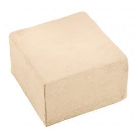 Pavés Touraine ton pierre 7 cm - à l'unité