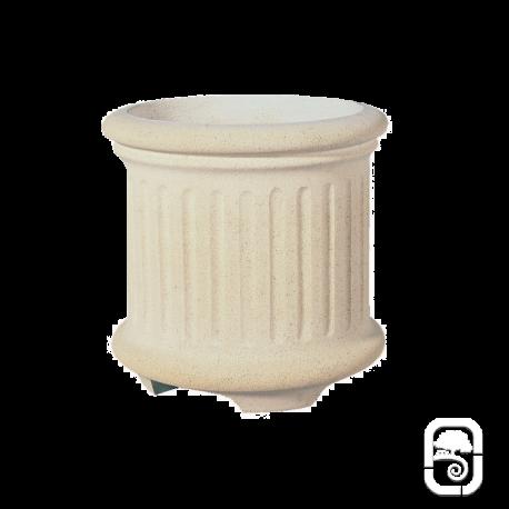 Bac rond 233 marbre blanc - Ø 42cm