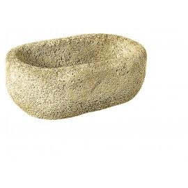 Auge en pierre ancienne - 37cm