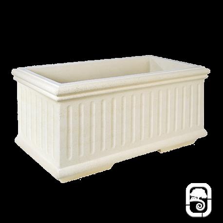 bac 254 marbre blanc 80cm. Black Bedroom Furniture Sets. Home Design Ideas