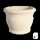 Pot rond 245 marbre blanc - Ø 63cm