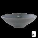 Coupe 65 béton pressé anthracite - Ø 65cm