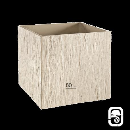 Bac carré Quiberon GM Ivoire  - 49cm