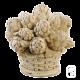 Panier d'artichauts - H 28cm