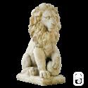 Lion sur boule - H 48 cm