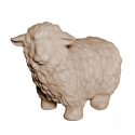 Mouton en pierre - H 30cm