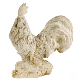 Coq en pierre - H 45cm