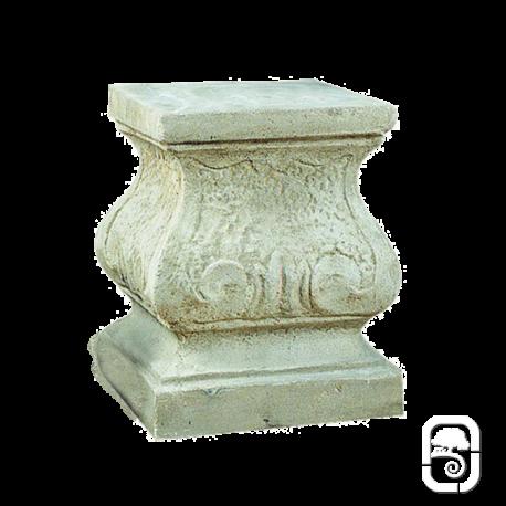 Socle carré ancien - H 50cm