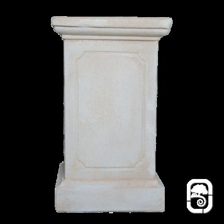 Base pour statue h 70cm - Decoration de grand vase transparent ...