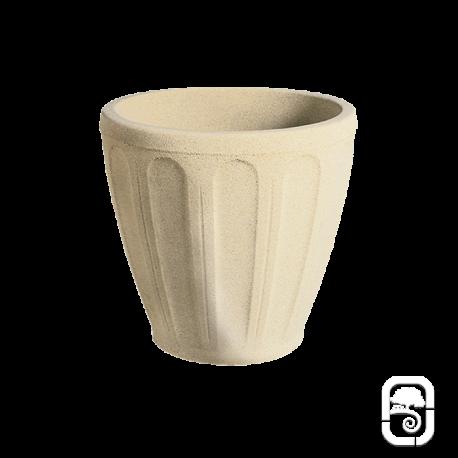 Pot rond pierre classique S - Ø 37 cm