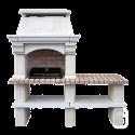 Barbecue en pierre Mons à 1 table