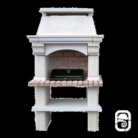barbecue en pierre mons. Black Bedroom Furniture Sets. Home Design Ideas