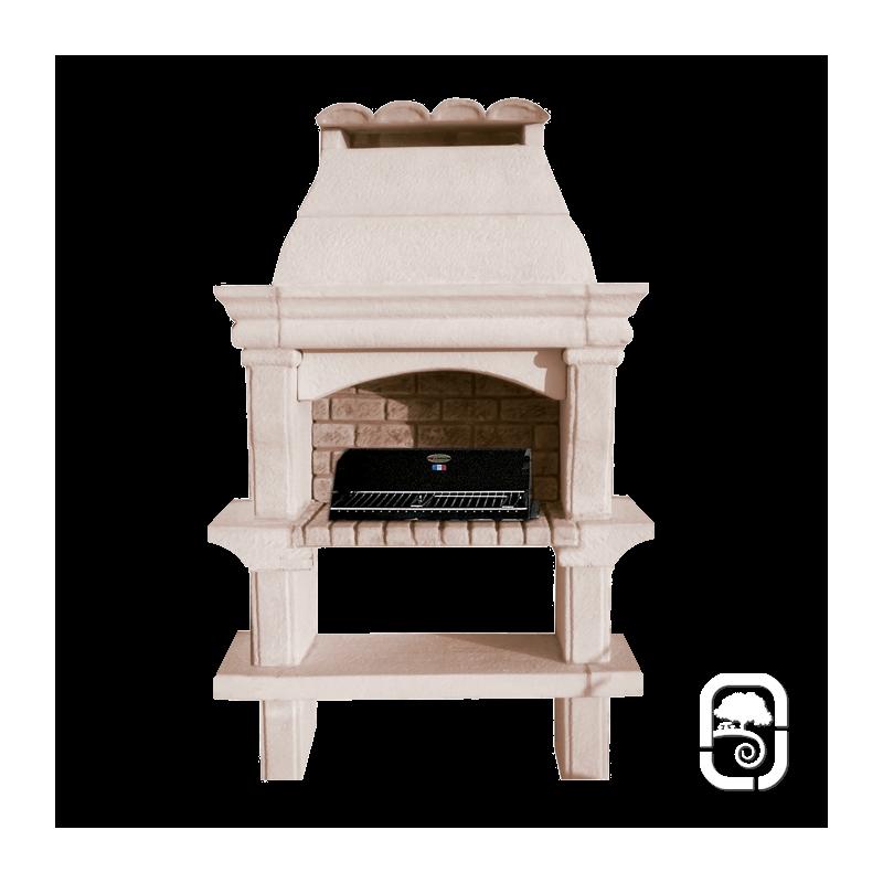 barbecue en pierre provence. Black Bedroom Furniture Sets. Home Design Ideas