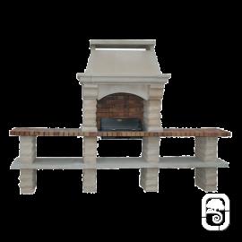 barbecue artisanaux en pierre reconstitu e. Black Bedroom Furniture Sets. Home Design Ideas