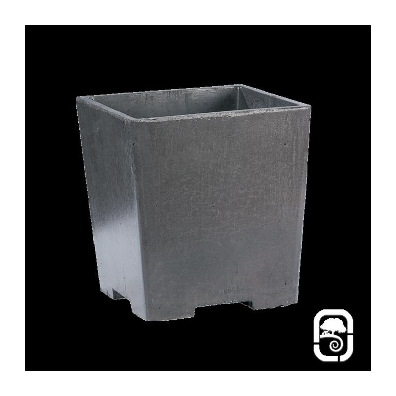 bac beton jardinire hexagonale concarneau d 100 x h 52 cm. Black Bedroom Furniture Sets. Home Design Ideas