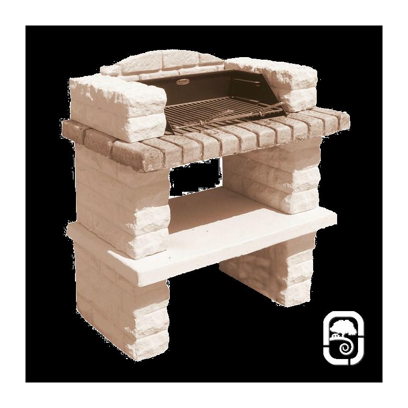 barbecue en pierre sonnac. Black Bedroom Furniture Sets. Home Design Ideas
