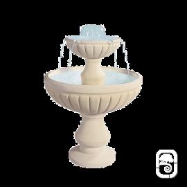 Fontaine centrale 990 en pierre - H 98 cm