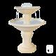 Fontaine centrale 710 en pierre - H 95cm