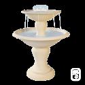 Fontaine centrale 710 à 2 coupes - H 95cm