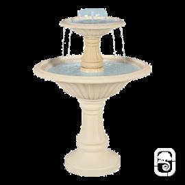 Fontaine centrale 900 en pierre - H 145cm