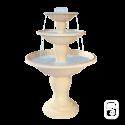 Fontaine centrale 700 à 3 coupes - H 170cm