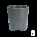 Pot rond 284 béton ciré ardoise - Ø 30cm