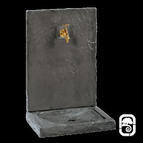 fontaine murale ardois 230 anthracite h 74cm. Black Bedroom Furniture Sets. Home Design Ideas