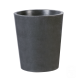 Pot rond béton ciré M - Ardoise - Ø 40 cm