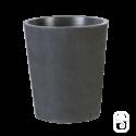 Pot rond 289 béton ciré ardoise - Ø 40cm