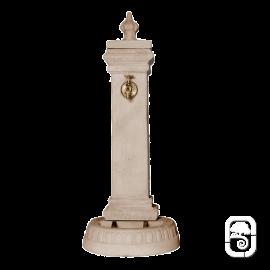 Borne fontaine Mistral Pierre vieillie - H 108cm