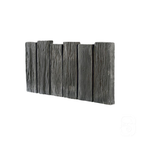 Bordurette schiste ton ardoise 50cm for Bordurette de jardin