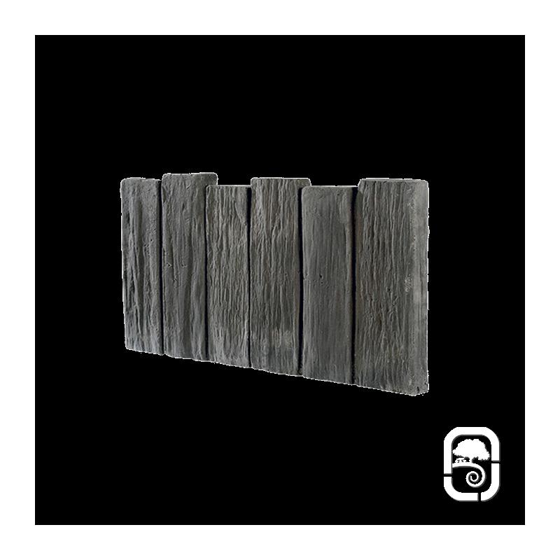 bordurette schiste ton ardoise 50cm. Black Bedroom Furniture Sets. Home Design Ideas