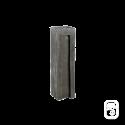 Bloc schiste droit ton ardoise - H 29cm