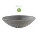 Vasque aquatique 88 anthracite - Ø 88cm